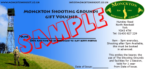 Shooting Grounds Gift Vouchers